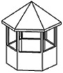 Hexagonal Gazebo Roof